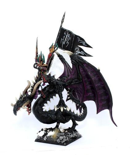 Rakarth Bracchus Dark Elves 4th Edition miniature