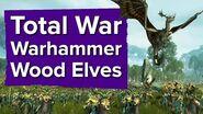 5 minutes of Total War Warhammer Wood Elves Gameplay