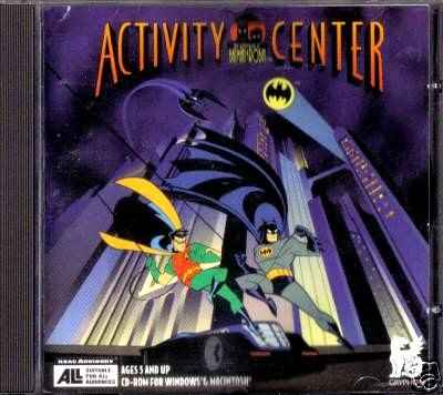 The Adventures of Batman & Robin: Activity Center