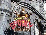 Scooby-Doo Spooky Coaster Sign