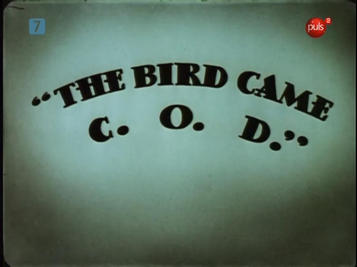 The Bird Came C.O.D.