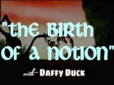 Birth of a Notion