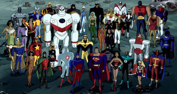 DC animated universe