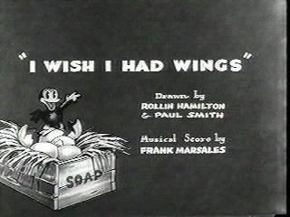 I Wish I Had Wings