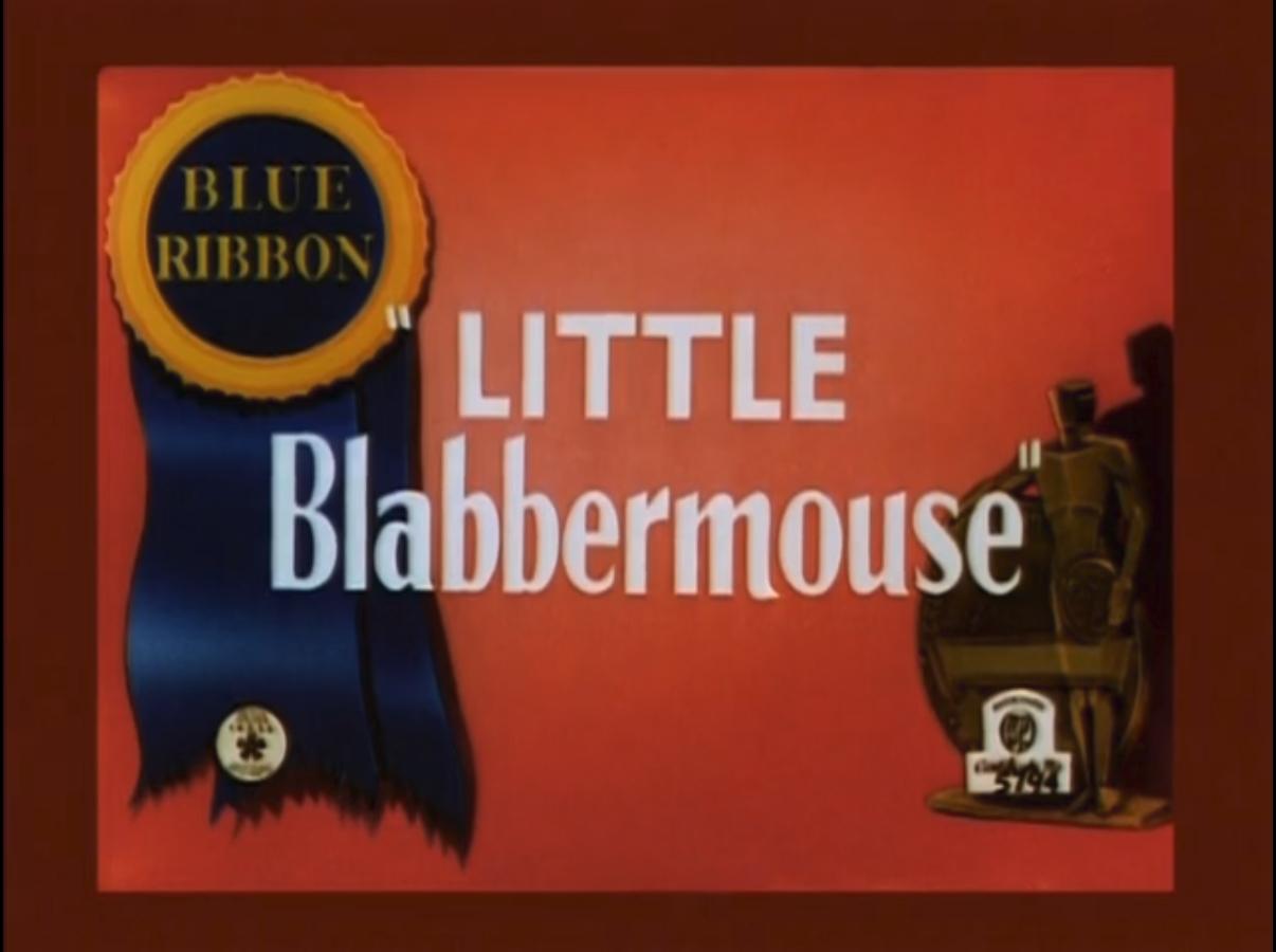 Little Blabbermouse