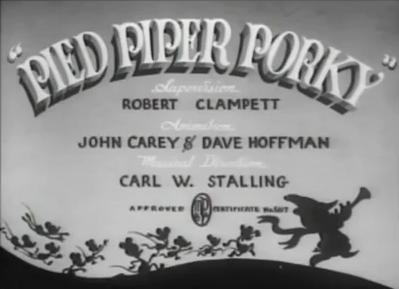 Pied Piper Porky