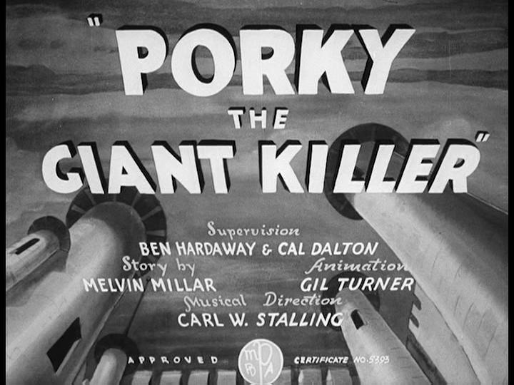 Porky the Giant Killer