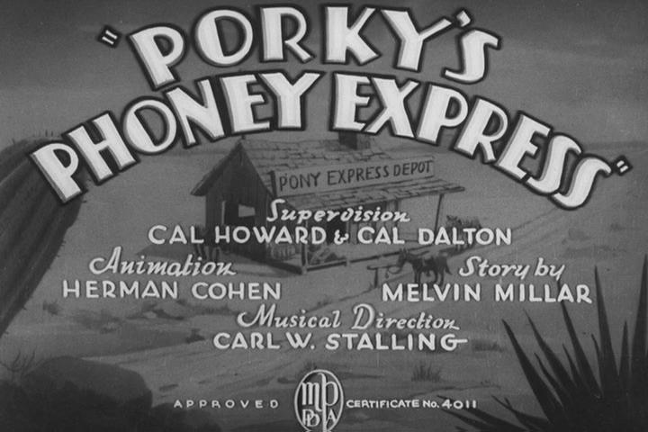Porky's Phoney Express