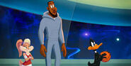 Lola with lebron and daffy