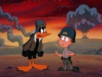 Daffy mad at Loud