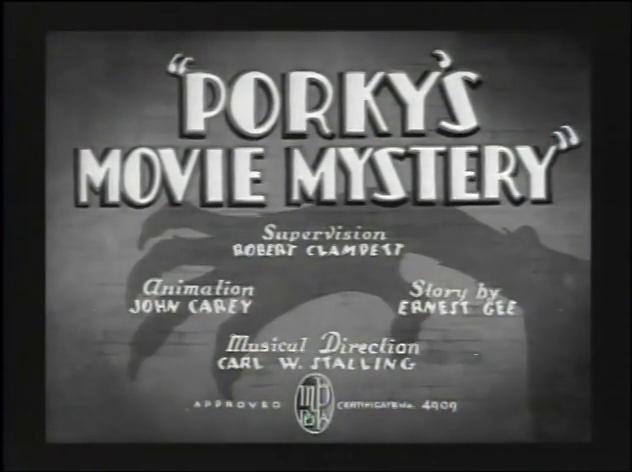 Porky's Movie Mystery