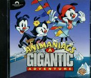 Animaniacs A Gigantic Adventure cd-rom cover