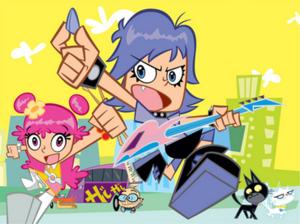 Hi Hi Puffy AmiYumi Characters.png