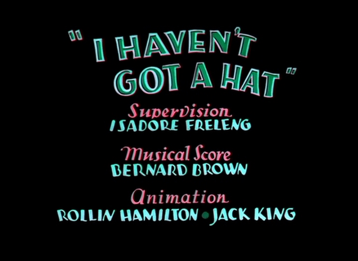 I Haven't Got a Hat