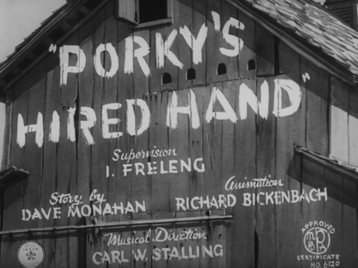 Porky's Hired Hand