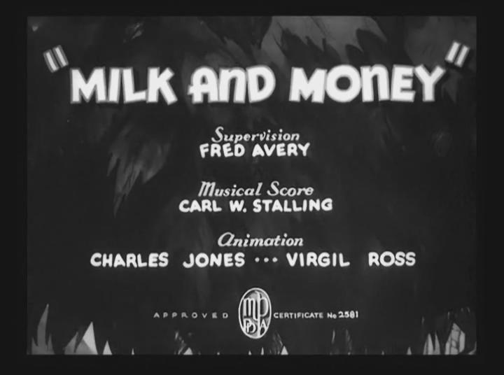 Milk and Money