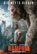 Rampage teaser film poster