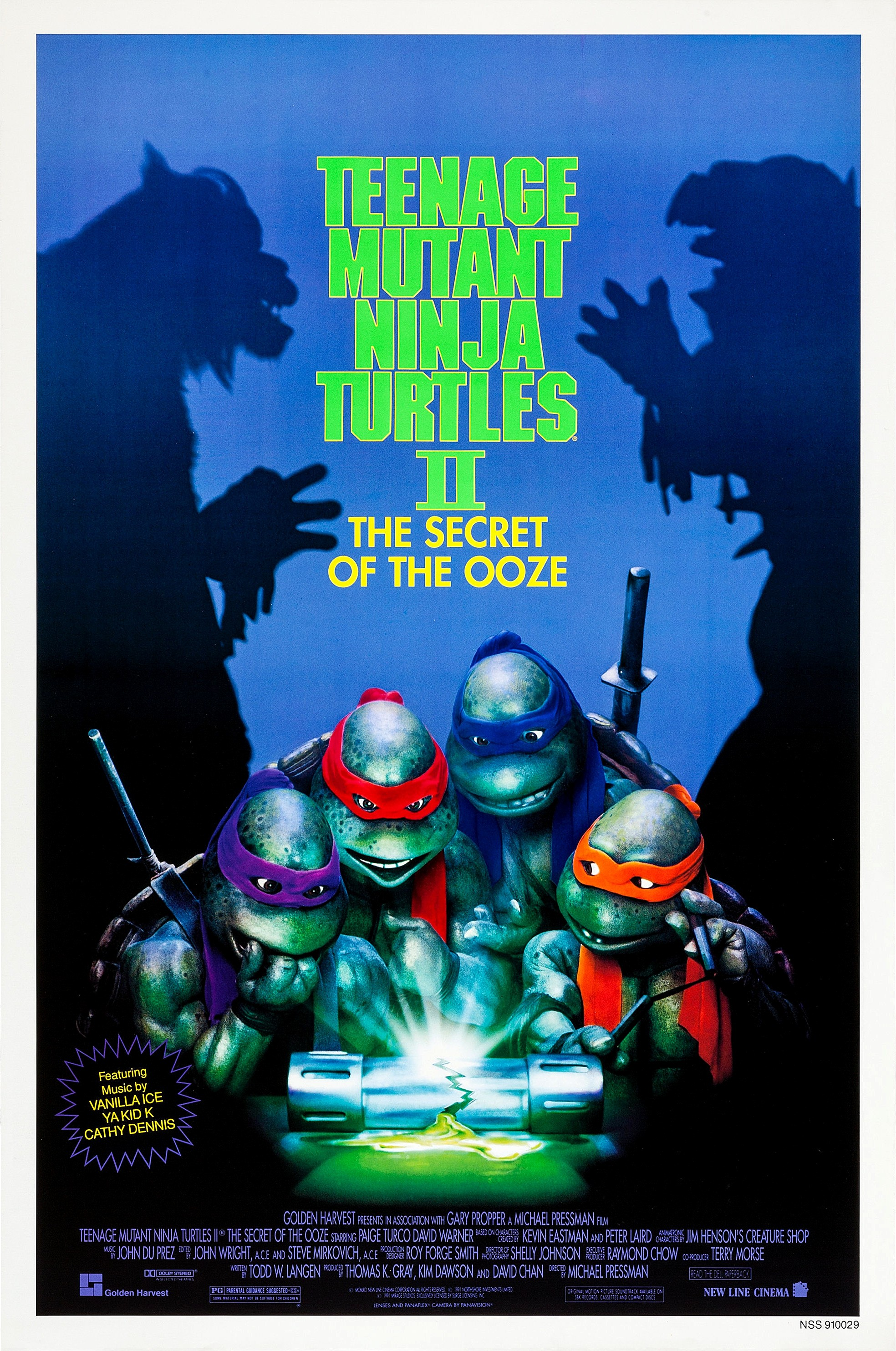 Teenage Mutant Ninja Turtles Ii The Secret Of The Ooze Warner Bros Entertainment Wiki Fandom