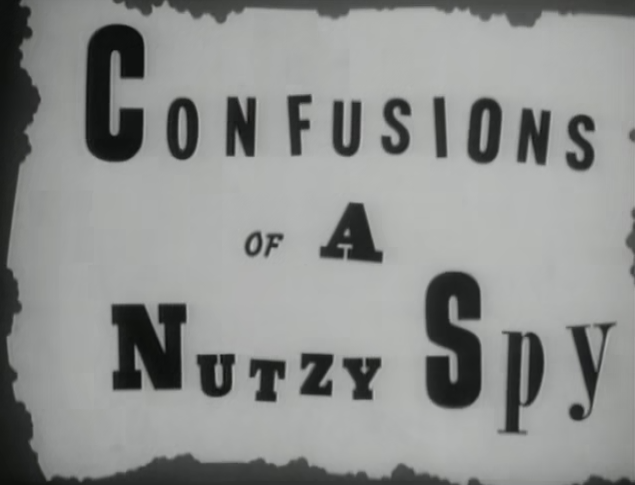 Confusions of a Nutzy Spy