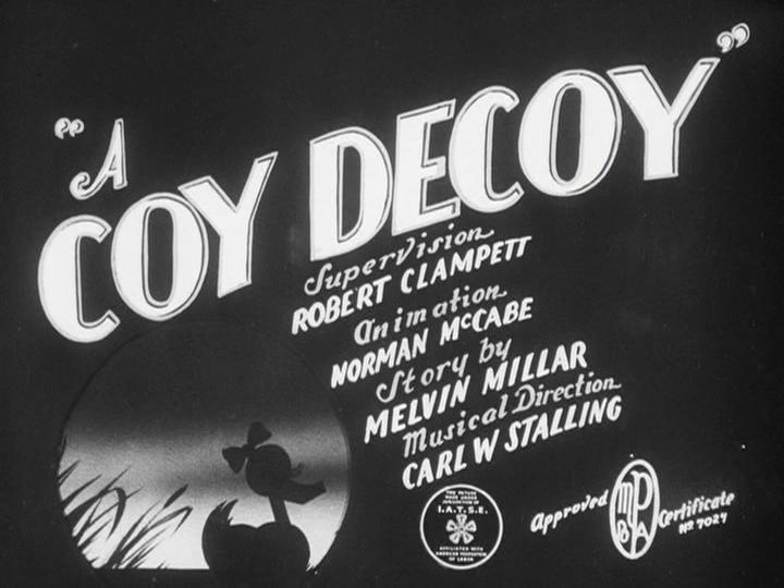 A Coy Decoy