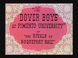 The Dover Boys at Pimento University