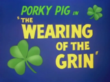 The Wearing of the Grin