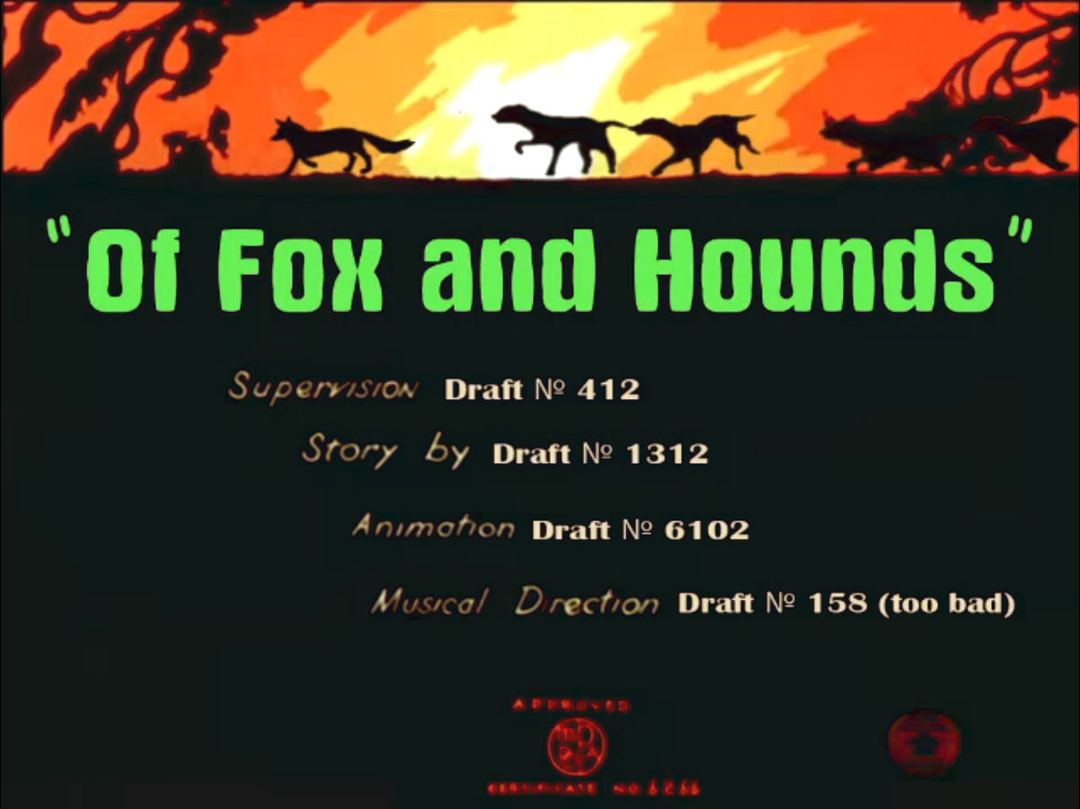 Of Fox and Hounds