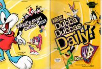 Kids WB print ad 1997 (folded in)