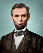 Abraham Lincoln November 1863 Color