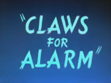 Claws for Alarm