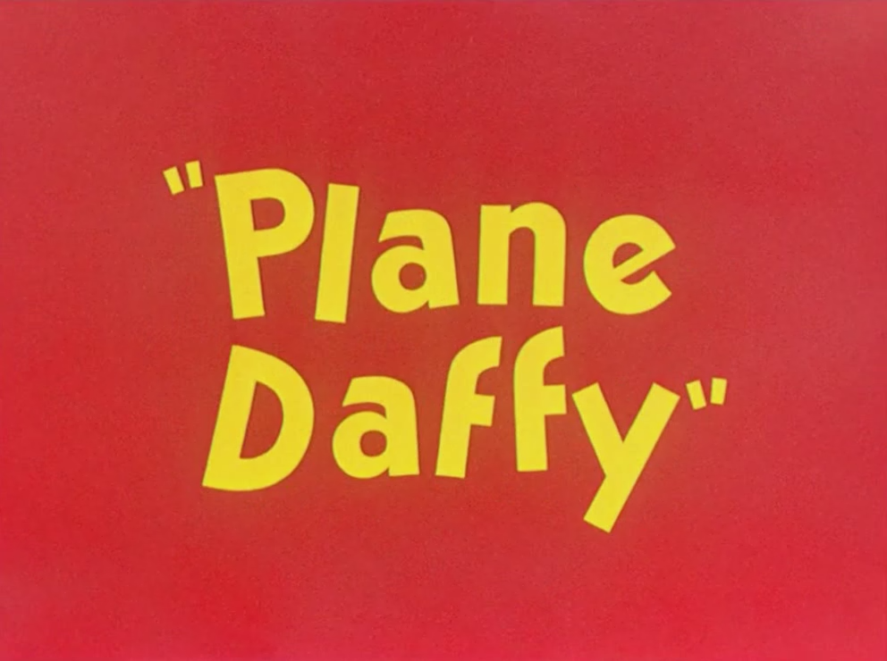 Plane Daffy