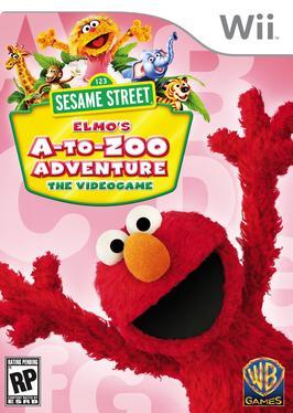 Sesame Street: Elmo's A-to-Zoo Adventure