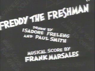 Freddy the Freshman