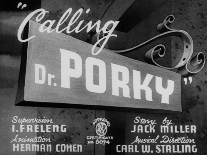 Calling Dr. Porky
