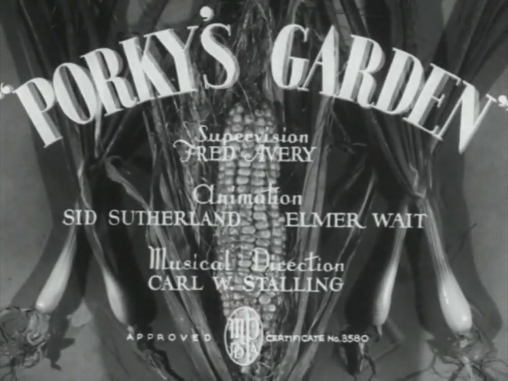 Porky's Garden