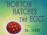 Horton Hatches the Egg (short)