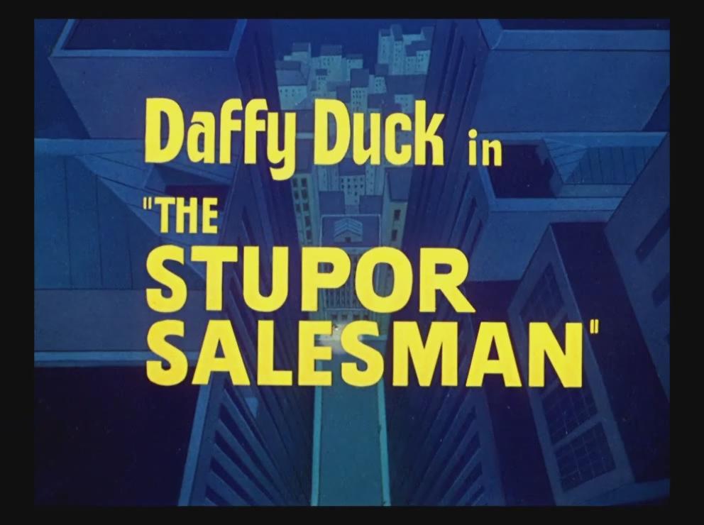 The Stupor Salesman