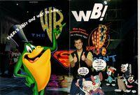 Kids WB print ad 1996 (folded in)