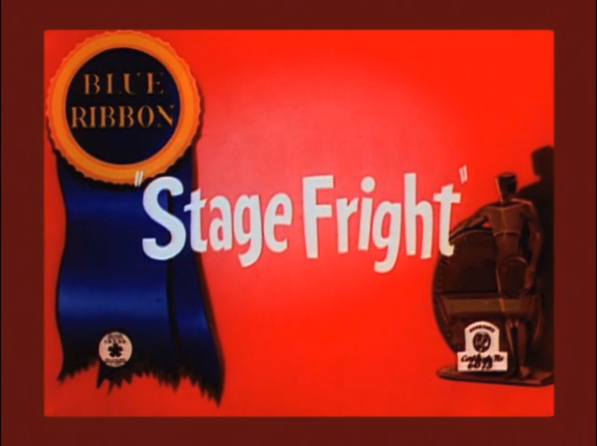 Stage Fright (Merrie Melodies short)