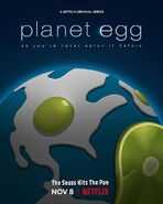 Green Eggs and Ham Poster - Planet Egg