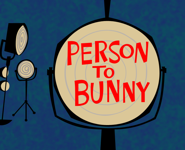 Person to Bunny