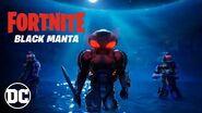 Fortnite - Black Manta Has Arrived