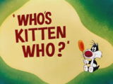 Who's Kitten Who?