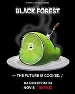 Green Eggs and Ham Poster - Black Forest