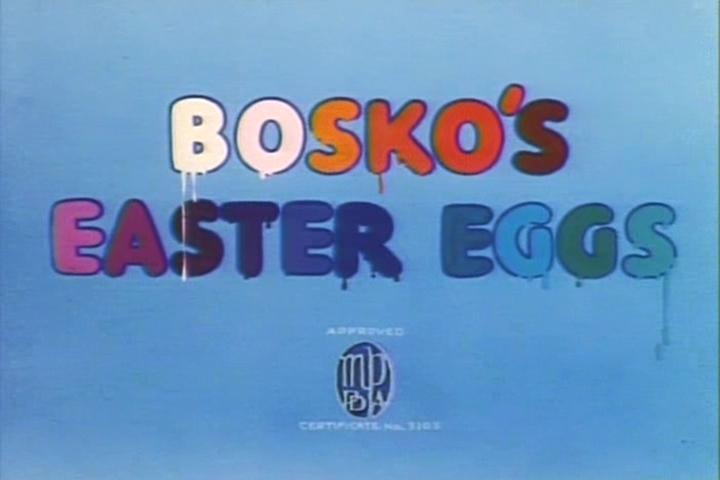 Bosko's Easter Eggs