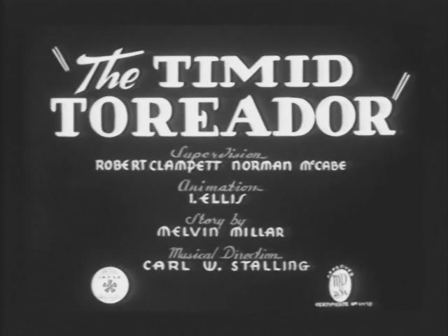 The Timid Toreador