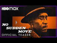 No Sudden Move - Official Teaser - HBO Max