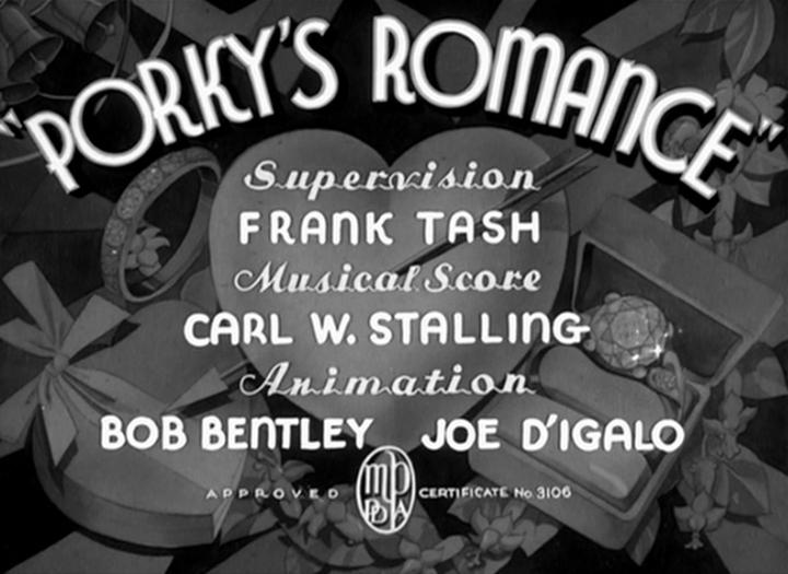 Porky's Romance