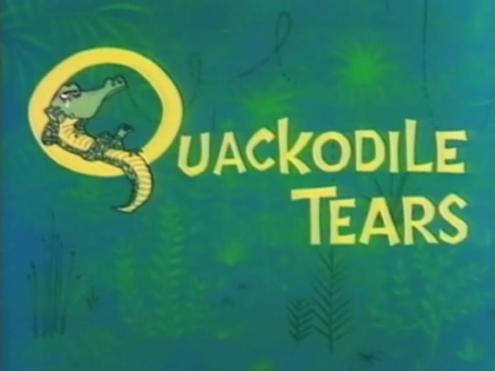 Quackodile Tears