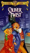 Oliver twist vhs cover